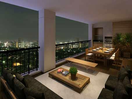 Lançamento de apartamentos com 3 e 4 dorms, 110 e 140m² na Vila Mascote