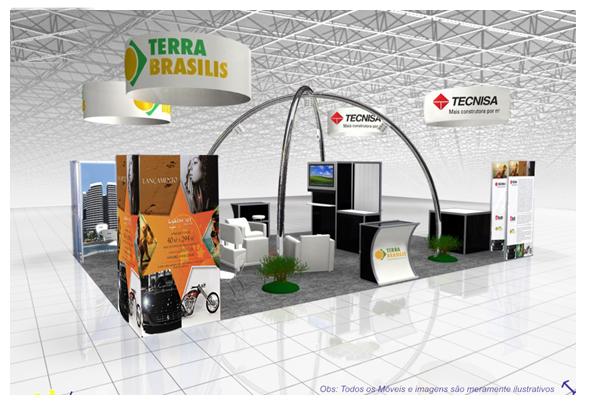 A Tecnisa estará presente pela 1º vez  na SIMC Salão Imobiliário do Ceará