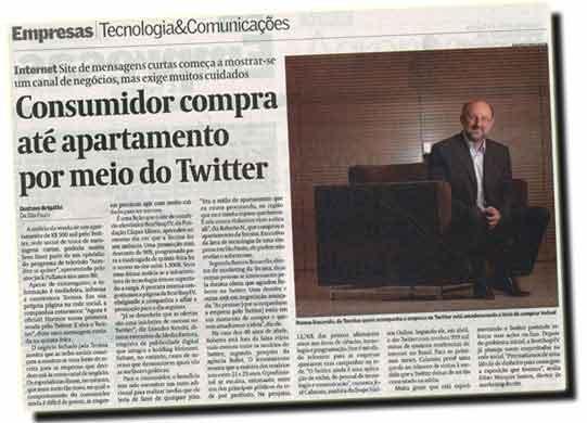 Venda de apartamento pelo Twitter repercute na mídia