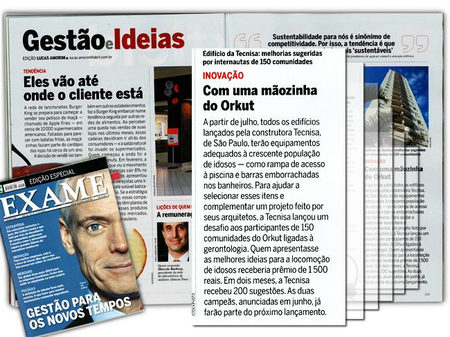Projeto de Open innovation da Tecnisa  é citado pela revista Exame