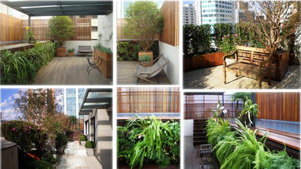 Jardins em coberturas