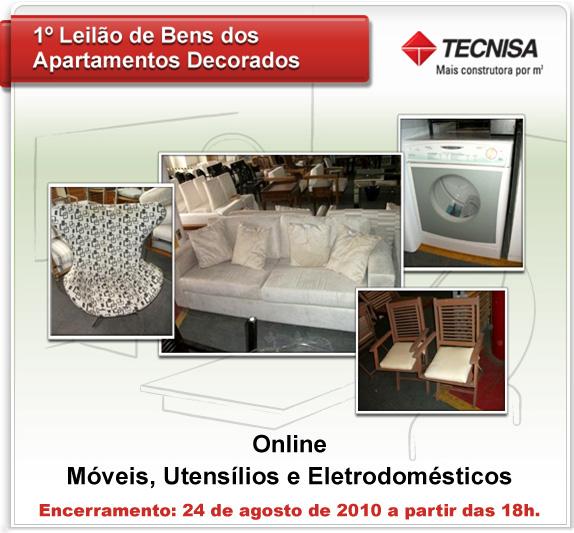 Tecnisa realiza o 1º Leilão de bens de modelos decorados