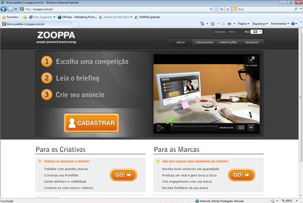 Site de open innovation,Tecnisa Ideias, será divulgado via criação em rede no Zooppa