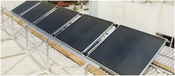 Energias renováveis em canteiro de obra