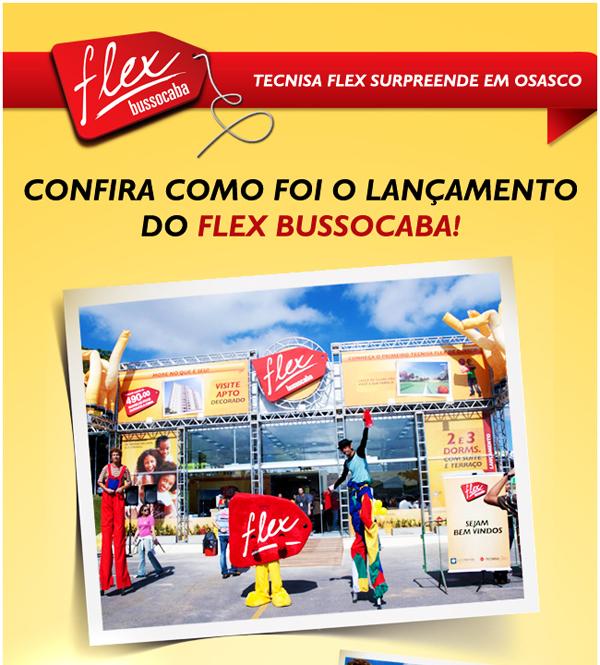 Lançamento do Flex Bussocaba em Osasco é um sucesso
