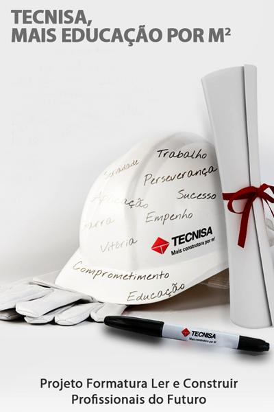 Projeto Ler e Construir da TECNISA completa 9 anos
