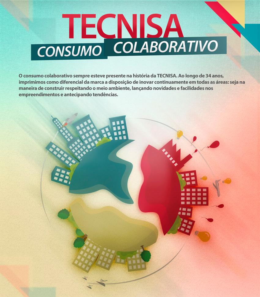 Ações da TECNISA no consumo colaborativo
