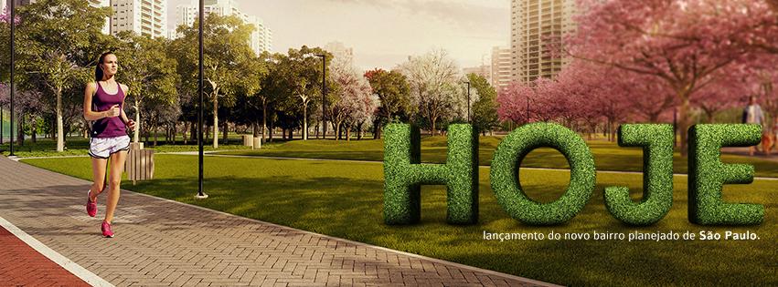TECNISA lança hoje o Jardim das Perdizes, bairro planejado mais moderno de São Paulo