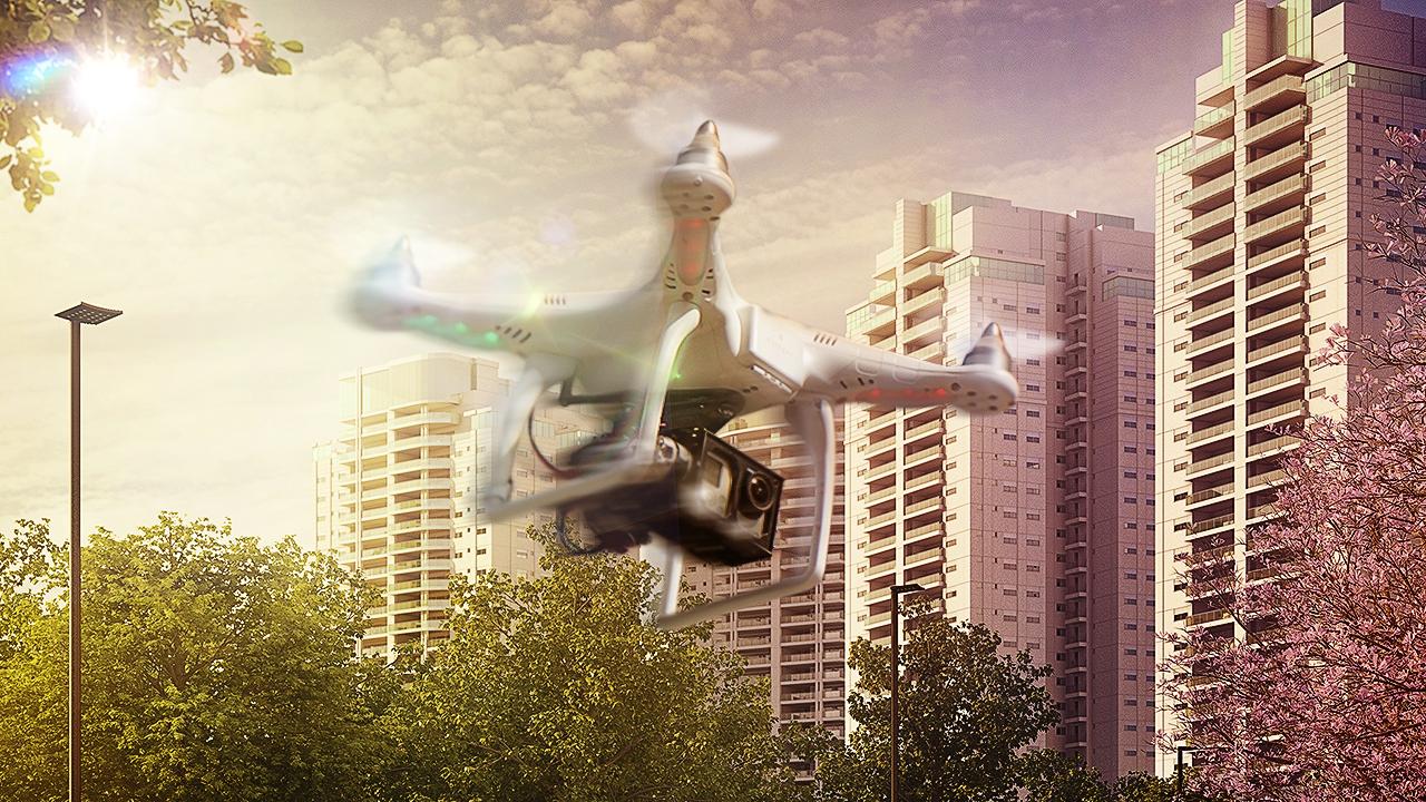 A TECNISA inova mais uma vez e implementa o uso de drones no acompanhamento de suas obras