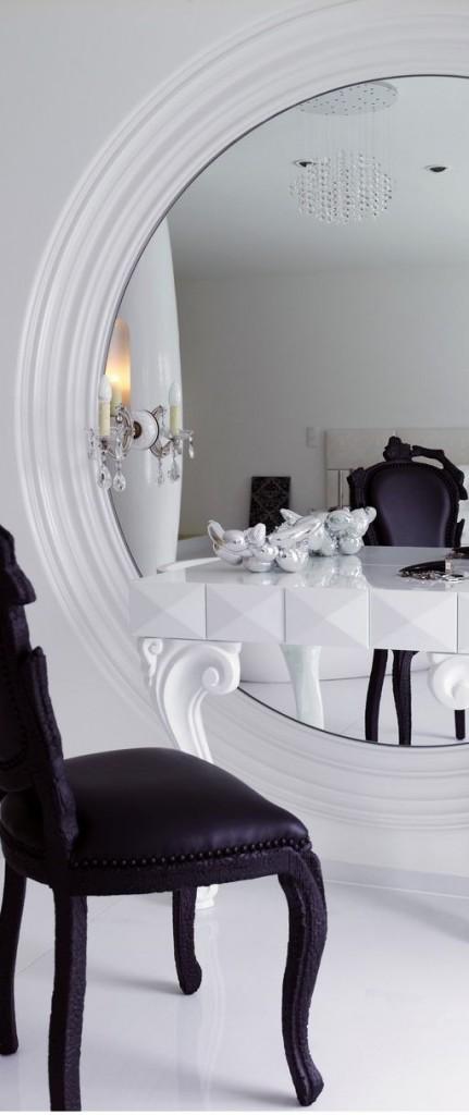 Para refletir em casa…Aposte nos espelhos!