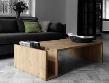 mesa centro madeira pranchas