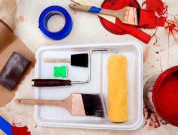 dicas de como pintar uma parede em casa sem um profissional