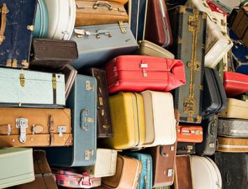 Como e onde armazenar em casa as malas de viagem usadas nas férias