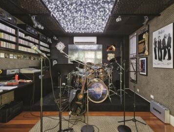 Dicas de como criar um estudio musical dentro de casa_Dia do Rock