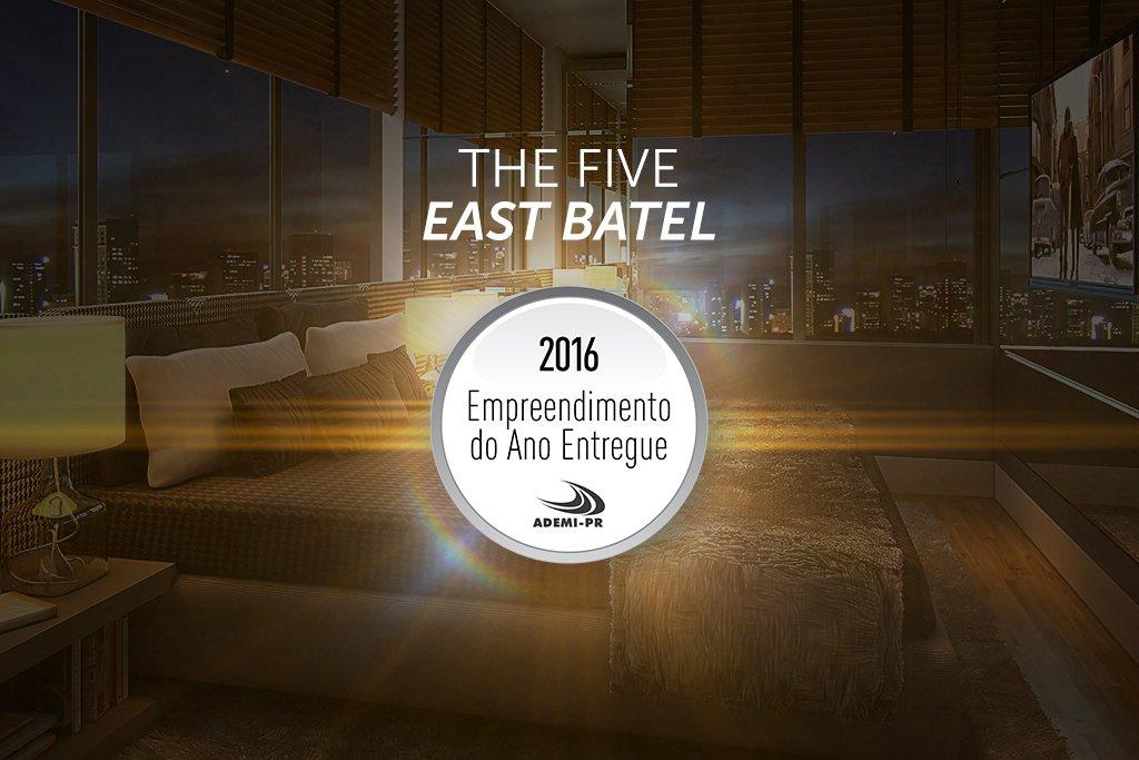 The Five East Batel: o melhor empreendimento entregue do ano em Curitiba