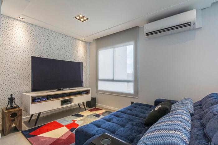 Painel de tv na sala