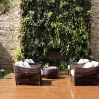 Jardim vertical pode mudar totalmente a decoracão da casa