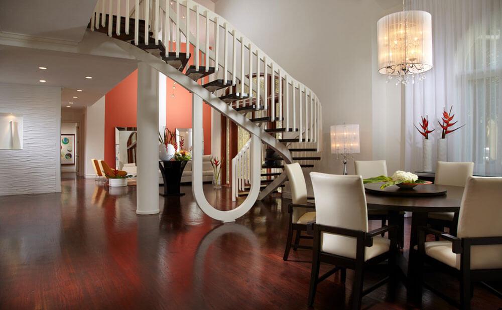 Imagem da sala de estar de uma casa