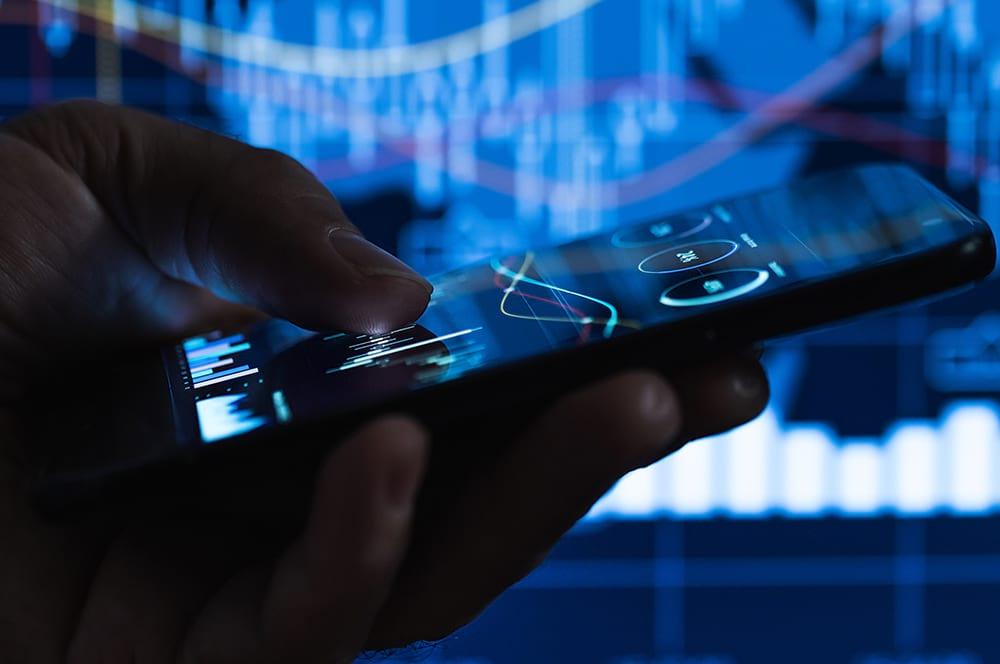 Imagem que mostra um celular + tecnologia
