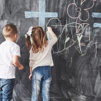 Papel de parede para interagir: diversão e aprendizado para as crianças