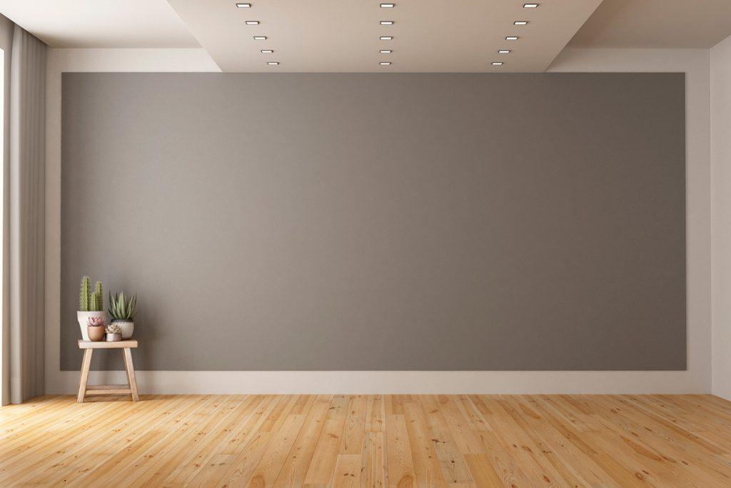 Imagem mostra espaço vazio