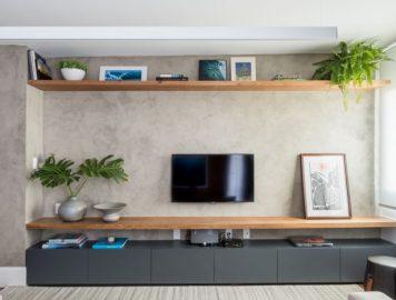 Modelos de rack para TV: do design tradicional aos de visual mais ousado