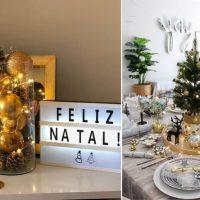 Natal: confira dicas e exemplos de salas decoradas ao estilo moderno-rústico e minimalista