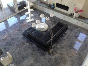 Valorize os ambientes com muita criatividade usando o Porcelanato Líquido
